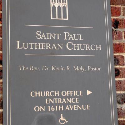St. Paul plaque